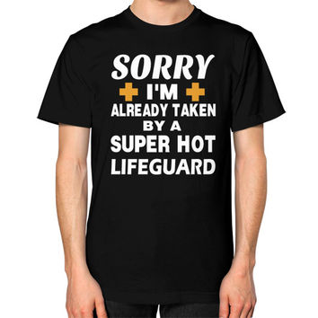 Taken by super hot lifeguard Unisex T-Shirt (on man)