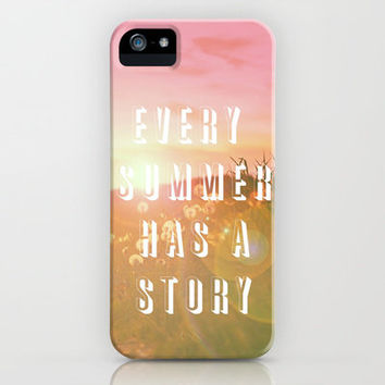 EVERY SUMMER HAS A STORY iPhone Case by M✿nika  Strigel	 | Society6