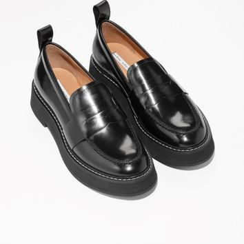 & Other Stories | Chunky Loafers | Black