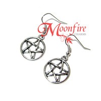 SUPERNATURAL Pentagram Pentacle Symbol Earrings