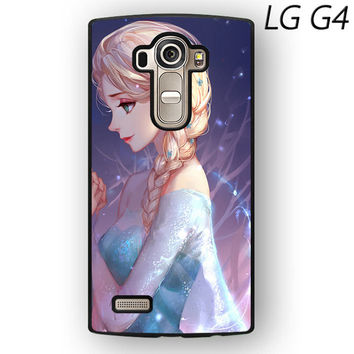 Disney Frozen Sisters Anna and Elsa Best Friend Couple For LG G3/G4 Phone case ZG