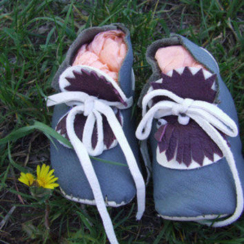 Precious Eco-Friendly Baby Moccasins — Beyond Buckskin Boutique