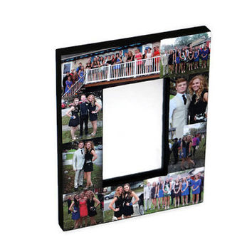 Best Friend Boyfriend Girlfriend Photo Frame Mirror for Locker 4 x 6 Inch Magnetic Locker Mirror