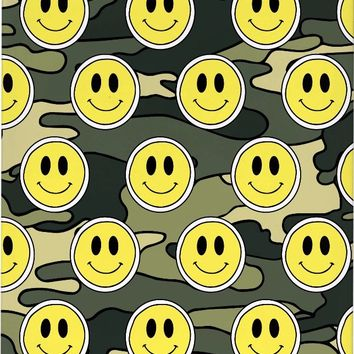 ROCA Smiley Green Camo Phone Case