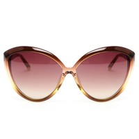 LINDA FARROW | Oversized Cat-eye Acetate Sunglasses | Browns fashion & designer clothes & clothing