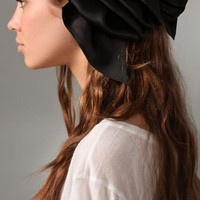 Eugenia Kim Solid Kelly Ruffled Barrette