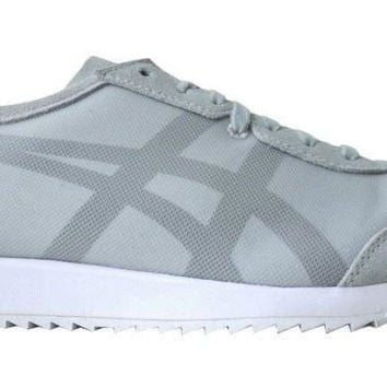 Mens Onitsuka Tiger Mexico 66 Grey fashion trainers Sneakers shoes Size UK 8.5