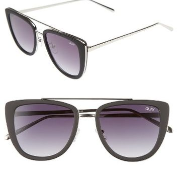 Quay Australia French Kiss 55mm Cat Eye Sunglasses | Nordstrom