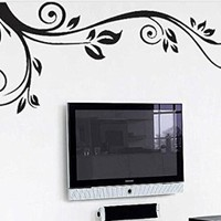 Large Vine Frame Wall sticker for Children's Nursery Wall Decal Wall Sticker Home Decor