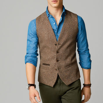 WOOL WAISTCOAT - View all - Blazers - MEN - United States of America / Estados Unidos de América
