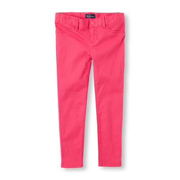 Girls Solid Jeggings | The Children's Place