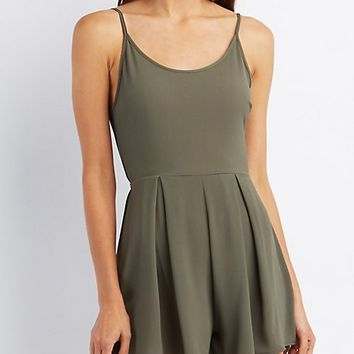 Strappy Bow Back Romper