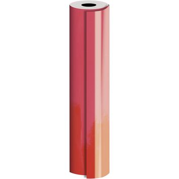 Bulk Ream Roll Solid Gift Wrap Wrapping Paper, Super Glossy Red