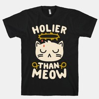 Holier Than Meow