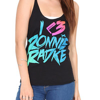 Falling In Reverse I (Heart) Ronnie Girls Tank Top | Hot Topic