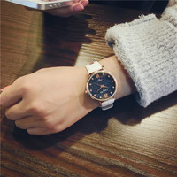 Watch Korean Simple Design Casual Stylish Fashion Decoration Quartz Watch [9340472708]
