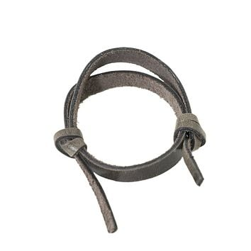 Slide Leather Bracelet
