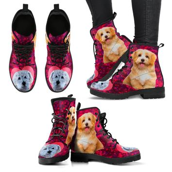 Valentine's Day Special-Havanese Dog Print Boots For Women-Free Shipping