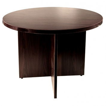 "Round Conference Table 42"" Wide. FREE DELIVERY IN PUERTO RICO!"