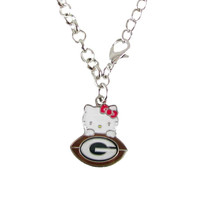 Green Bay Packers Hello Kitty Bracelet
