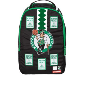 Sprayground - NBA Labs Celtics Banner Patches Backpack