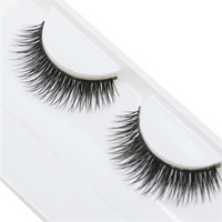 Natural Beauty Dense A Pair False Eyelashes Individual Fake False Eyelashes Long Eyelashes Extension Makeup Eye Lashes SP23