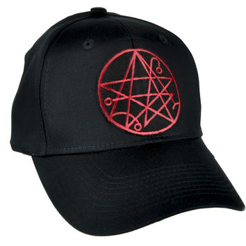 Necronomicon Gate Alchemy Symbol Hat Baseball Cap Occult Clothing
