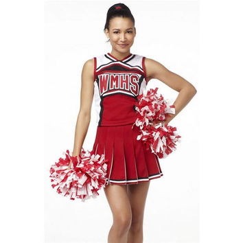 Red Sexy Cheerleaders Costume
