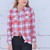 Penny Plaid Top