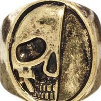 ASOS Signet Ring With Skull