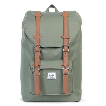 herschel supply co. 'Little America Backpack | Mid-Volume' - Deep Lichen Green