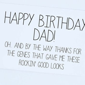 shop funny birthday cards dad on wanelo