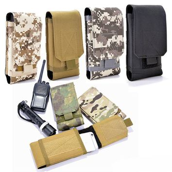 600D Tactical Molle Thunder Cellphone Pouch 5.5 Inch Belt Waist Pack Outdoor Hunting Hiking EDC Utility Accessory Pouch