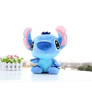 Hot 18cm cute Stitch Plush Toys Soft Stuffed Animals Doll Stich Plush Kids Toys