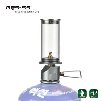 brs-55 Outdoor Gas Lantern Camping Tent Light Ultralight Portable Candle Lamp fast delivery to South Korea and Thailand brs