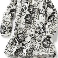 Old Navy Printed Ruffle Dress