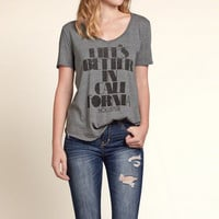 Hollister Graphic Tee