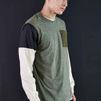Staple Quantico Long-Sleeve Shirt- Green