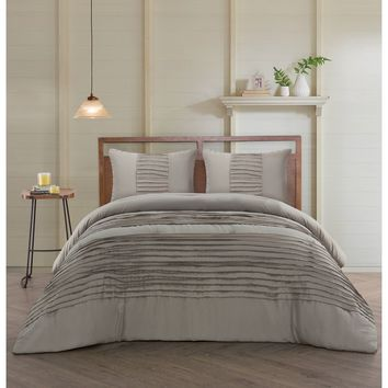 Wilham 3 Piece Reversible Duvet Cover Set
