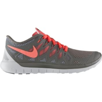nike free grey and coral