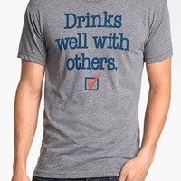 5 Crown 'Drinks Well With Others' T-Shirt | Nordstrom