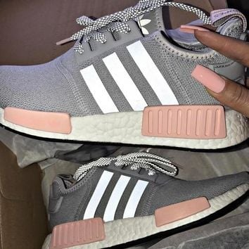 ADIDAS Women Running Sport Casual Shoes NMD Sneakers Pink G