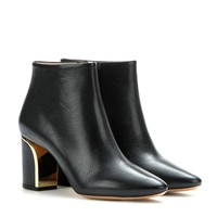 chloé - beckie leather ankle boots
