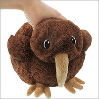 Mini Squishable Baby Kiwi: An Adorable Fuzzy Plush to Snurfle and Squeeze!