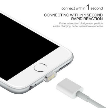 2.4A Magnetic Cable Micro Usb Data Cable for Apple iPhone 5 5s 6 6s 7 Plus Charging Cable Android for Samsung ZTE Mobile Phone