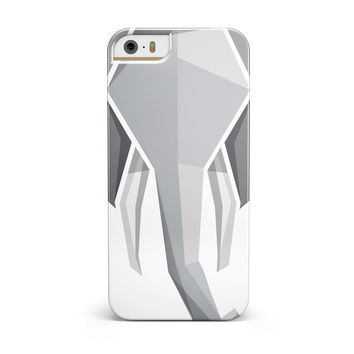 Geometric Elephant iPhone 5/5S/SE INK-Fuzed Case
