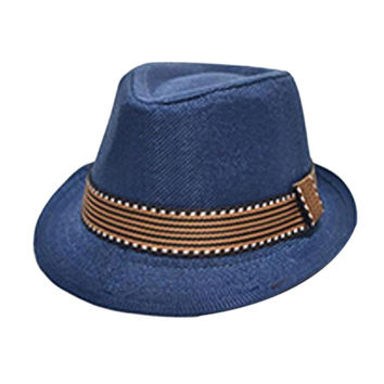 21 Colors Fashion Kids Chic Jazz Toddler Baby Boy Girl Cap Hats Cool Photography Fedora Hat Cotton Top 2016