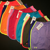 "Under Armour Women's Varsity 7"" Mesh Basketball Shorts 1232520 Many Colors"