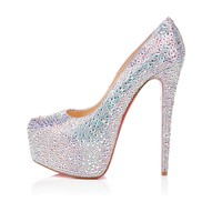 DAFFODILE STRASS 160 mm, Strass, aurora boreale, platforms, womens shoes