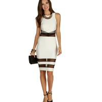 Sale-ivory Saturday Night Midi Dress